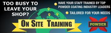 powder coating training classes