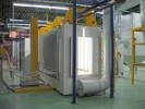 powder coating uv cure ovens