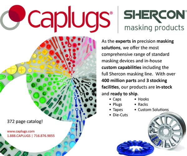 cap plugs masking products