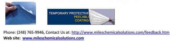 peelable masking products for powder coating