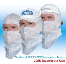 powder coating head protection
