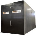 batch powder coat oven