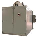 powder coat preheat oven