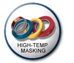 high temp masking tape