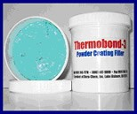 powder coating repair compound
