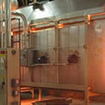 powder coating infrared curing oven