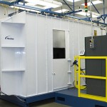 powder coating environmental rooms