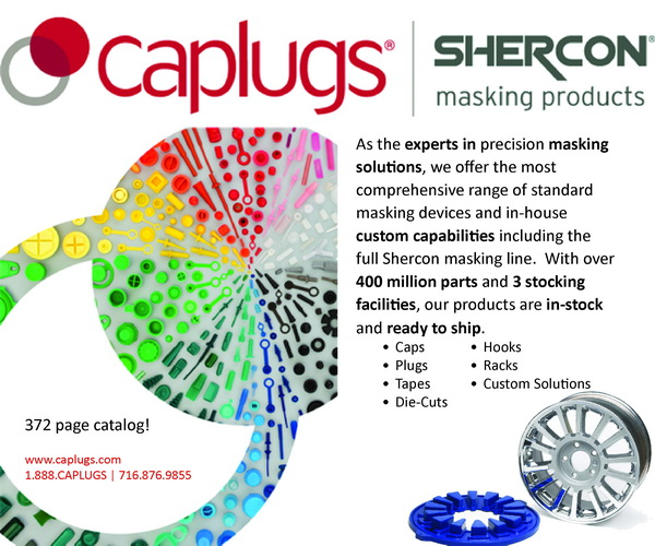 cap plugs masking products