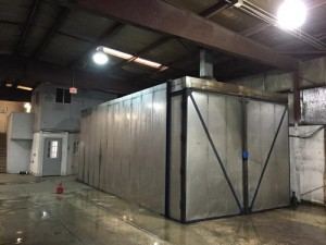 powder coating oven design