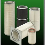 spray booth cartridge filters