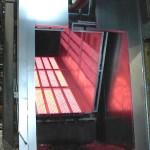 powder coating ultraviolet cure oven