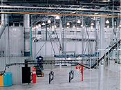 powder coating environmental room