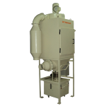 dust collector for powder coating shops