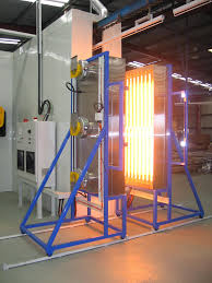 powder coating ir cure